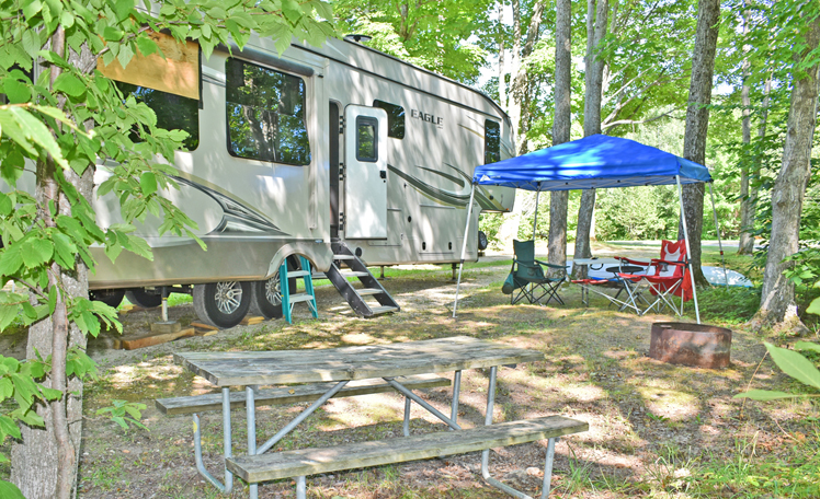 Upper Peninsula Michigan Campgrounds with Pool | Upper Peninsula Campgrounds | UP Campgrounds with Cabin Rentals